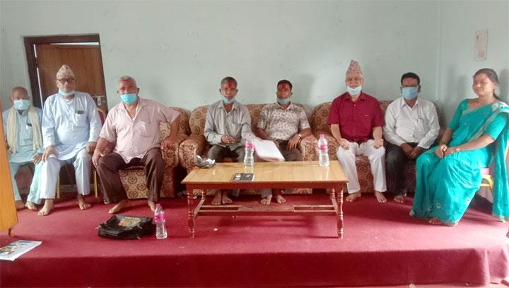 नेपाली काँग्रेससे जोशीपुरके हरके वडामे कमिटी गठन